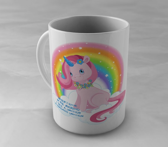 Unicorn Mug, Unicorn Cup, Rainbow Unicorn mug, Badass Coffee Mug, Unicorn Gift, Funny Coffee Mug, Statement Mug, Mugs with Sayings