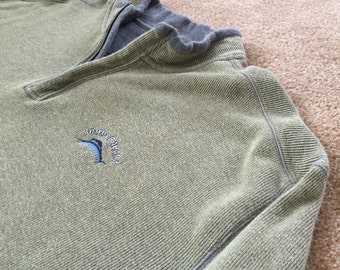 TOMMY BAHAMA Men's XXL Pullover 3/4 Zip Up Sweater