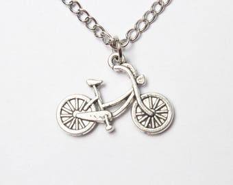 Bike necklace,Bicycle Necklace,Athlete Necklace,Gift For Cyclist, Love bike necklace,Sportsman Gift,Bike Jewelry