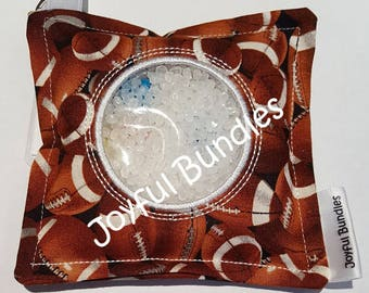 I Spy Bag, Footballs, Busy Bag, Car Game, Educational Game, Travel Toy, I Spy Game, Party Favors, Eye Spy Game, Sensory Toy,