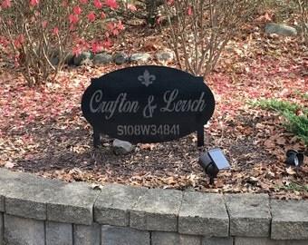 Personalized Address Sign! Steel art