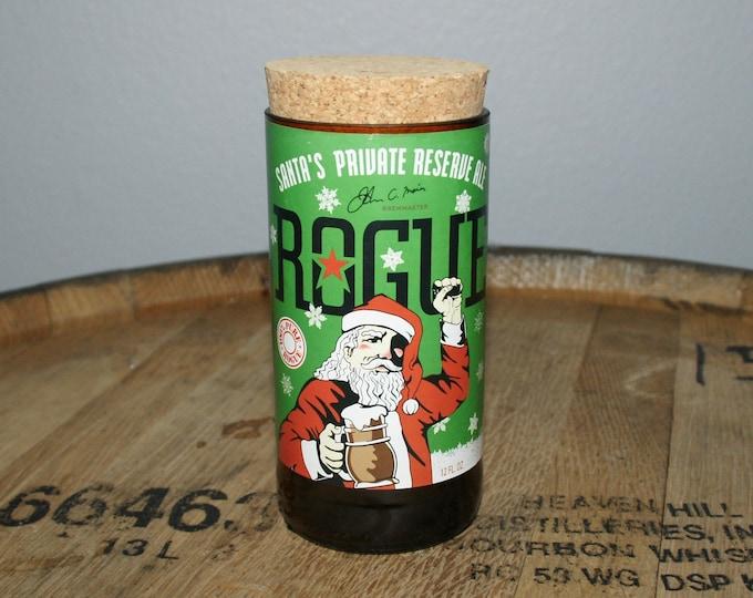 UPcycled Stash Jar - Rogue Ales - Santas Reserve Ale
