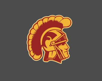 USC Trojans - Full Color Die Cut Decal
