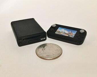 Mini Nintendo Wii U - 3D Printed!