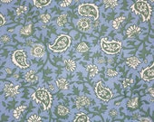 Stylized paisley flower v...