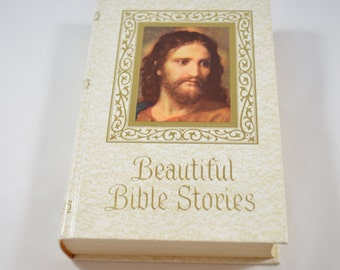 Beautiful Bible Stories Rev. Charles Roney John A Hertel Co. 1978 Vintage Religion & Spirituality Book Bible Study Bible Reference
