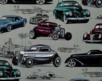 Retro Vintage Old Classic Cars  Valance