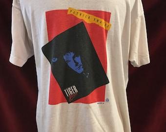Authentic Vintage 80's Patrick Swayze Tshirt