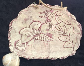 Hummingbird Wall plaque