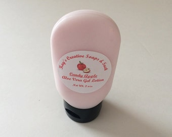 Body Lotion - Homemade Lotion - Hand Lotion - Bath and Body - Gifts for Her - Travel Size Lotion - Mosturizing Lotion - Candy Apple Lotion