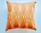 Throw Pillow   Orange Toss Pillow   Home Decor Pillow   Accent Pillow   BOHO Pillow   Bohemian Pillow   Toss Pillow   Orange Pillow   Tribal