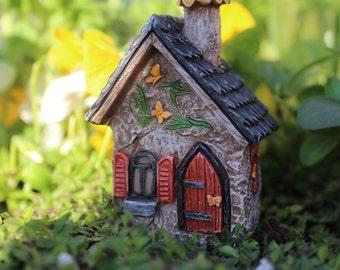 Fairy Garden  - Itty Bitty Butterfly House - Miniature