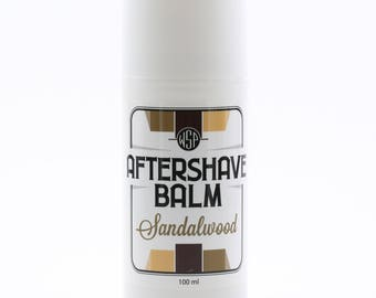 Cooling Aftershave Balm 3.4oz 100ml (Sandalwood)