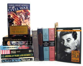 Lot 13 Military Books Leadership Special Forces Civil World War Vietnam History
