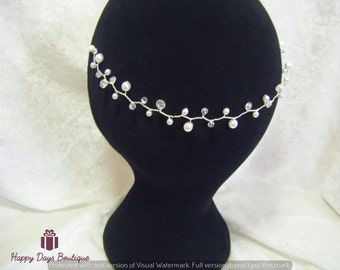 Pearl Hair Vine Bridal Prom or Ball