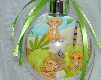 Baby Lion King Acrylic Laser photo ornament 3x3