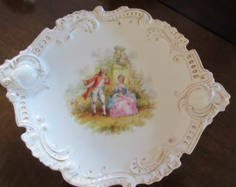 ANTIQUE TRANSFER WARE Plate