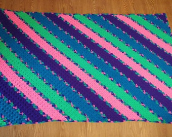 Bright Mix Afghan