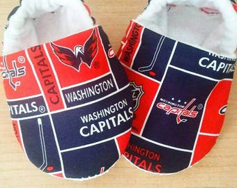 Washington Capitals NHL inspired Baby Booties