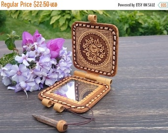 Unique Hand Held Mirror Related Items Etsy