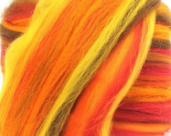 Merino Wool Combed Top/Roving by the Pound - Harvest Festival