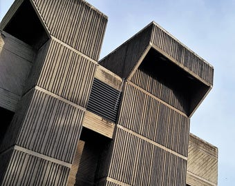 Brutalist Building, Mauritius