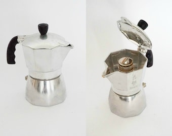 Vintage Bialetti Brikka Coffee Maker - 2 Cups - Made in Italy
