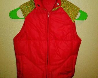 Vintage girls ski vest size 8/10