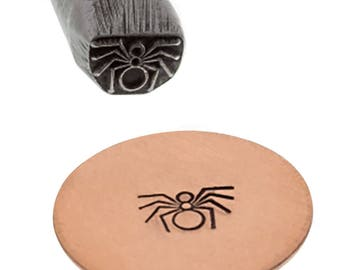 5 mm Spider Stamp Metal Marking Jewelry Stamping Tool - PUN-100.13