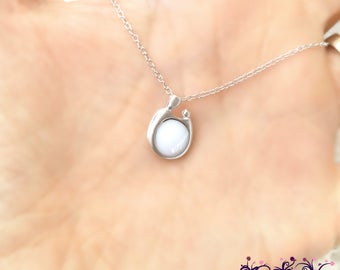 Mother and Child Breast Milk Pendant from Indigo Willow-- Breast Milk Jewelry