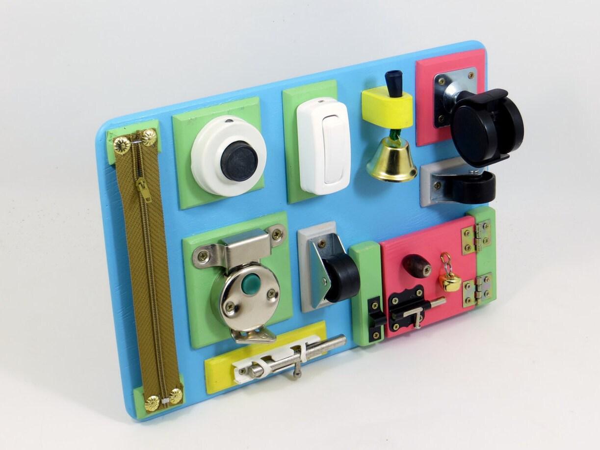 Fine Motor Toys : Baby busy board fine motor toy travel sensory by
