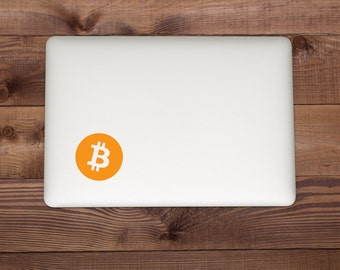 Bitcoin Car Laptop Window Decal FREE SHIPPING / Bitcoin Logo / Blockchain / Ethereum / Cryptocurrency / Bitcoin Sticker / Cooler / Yeti
