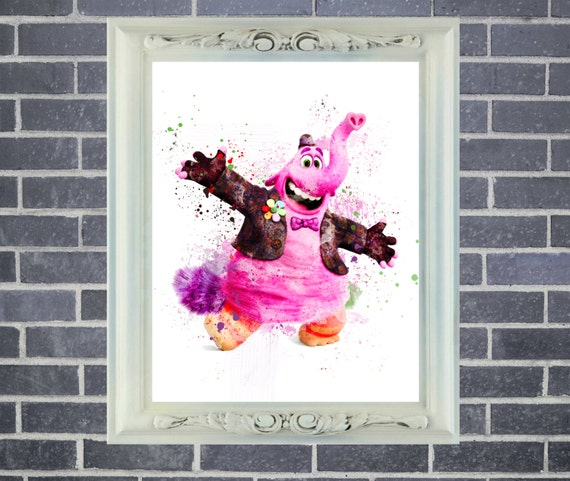 Inside Out Billabong Art Print ~ Watercolor Painting, Home Decor, Nursery Decor, Wall Poster, Art by Star Dangle