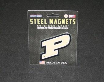 College Purdue Steel Magnet