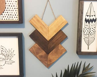 Boho Wood Art, Modern Wood Wall Art, Reclaimed Wood Wall Art, Modern Boho  Art, Wooden Wall Art, Geometric Wood Wall Art, Wood Wall Decor