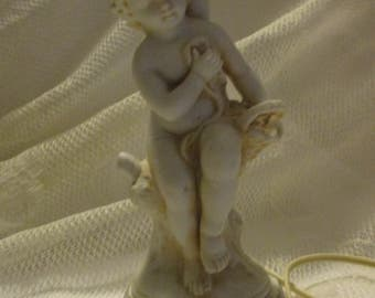 Vintage Aladdin gift ware portable lamp issue no. E-4793 Renaissance statue copy
