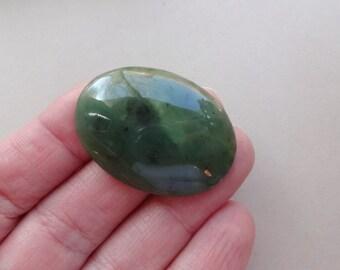 Jade Nephrite cabochon 38x28 mm
