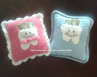 Tooth Fairy Pillow, Children's Tooth Pillow, Tooth Pillow