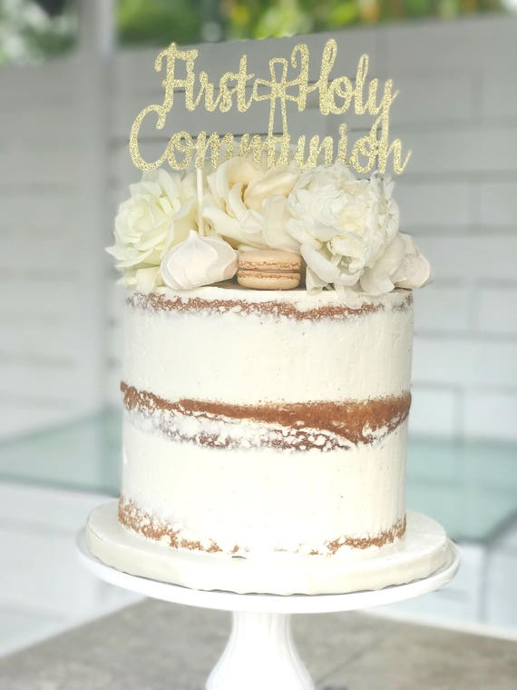 First Communion Cake Toppers First Communion Cake T...