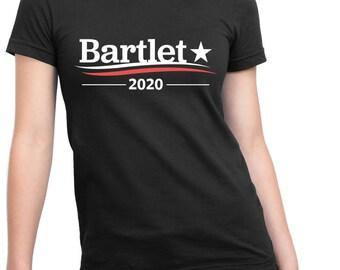 WEST WING Shirt, President BARTLET, Bartlet 2020, Bartlet For America, Jed Bartlet, Vote For Bartlet, West Wing Shirt, Unisex Men & Women