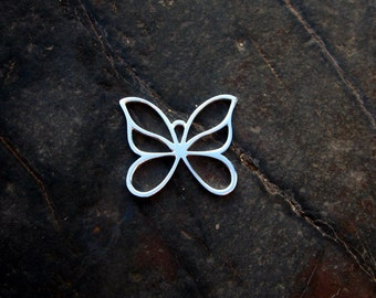 Sterling Silver Butterfly Pendant - #309
