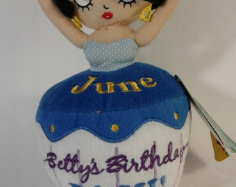 Betty Boop June Birthday Bash, Betty Boop Doll,Collective Dolls, Vintage Betty Boop, Gift For Her, Gift for Him, Betty, Boop, Vintage Dolls
