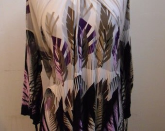 long sweater, shirt, vintage dress, Queen schreker .1980, made in italy