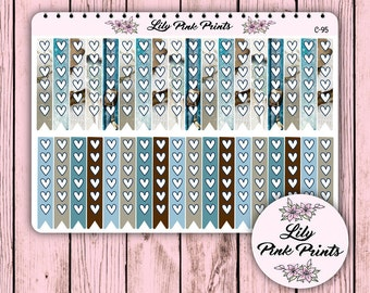 36 Cosy Winter Checklist Stickers C-95 - Perfect for Erin Condren Life Planners / Journals / Stickers.