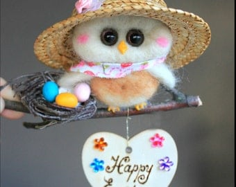 Easter ornament  Owl