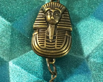 Egyptian Death Mask Necklace