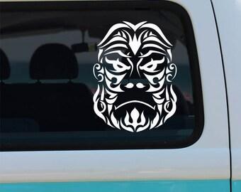 Gorilla Vinyl Decal - Tribal Gorilla - Gorilla Car Decal - Gorilla Decal - Gorilla Sticker - Car Decal - Vinyl Decal - Gorilla - Tribal