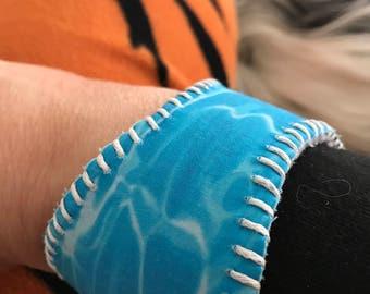 The Ocean Baseball Cuff Bracelet