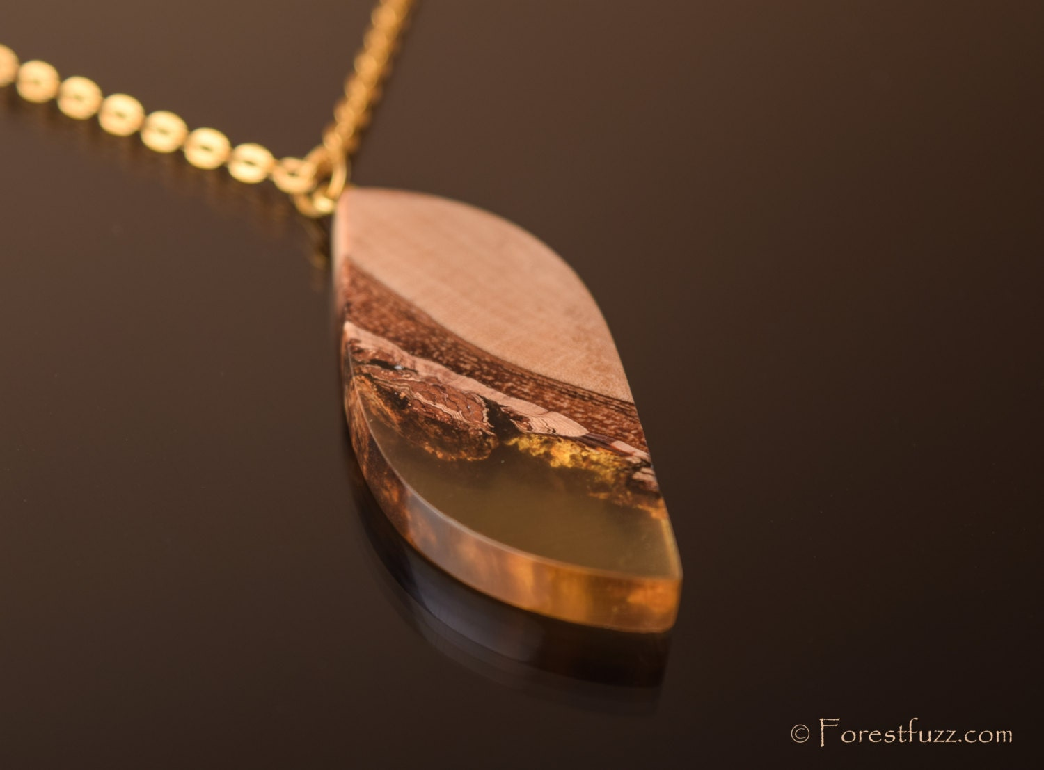 resin wood jewelry wood and resin wood necklace
