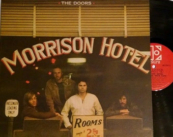 The Doors - Morrison Hotel - Excellent Condition - Jim Morrison -Free Shipping!